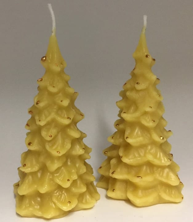 Beeswax Candles for Christmas