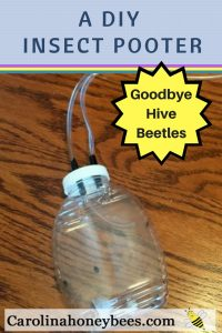DIY Insect Pooter for Hive Beetles - Carolina Honeybees