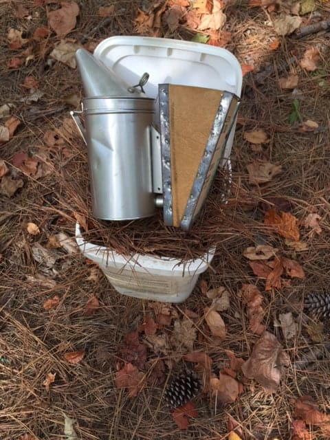 What is a bee smoker? A bee smoker is used to calm bees during hive inspections. Carolina Honeybees Farm