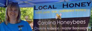 Master Beekeeper Charlotte from Carolina Honeybees Farm