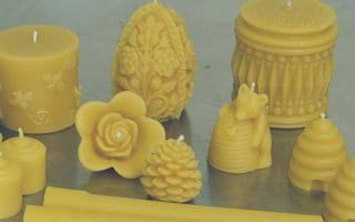 Beeswax candles come in all shapes and sizes. The very best ones are pure beeswax.