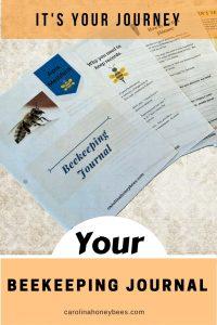 Your beekeeping journal - Carolina Honeygees
