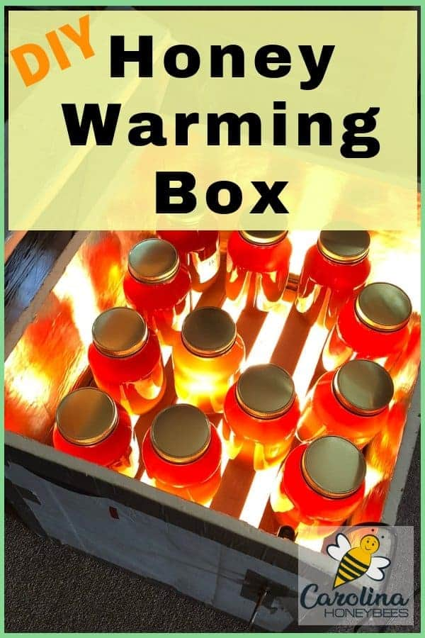 Use a honey warming box to decrystallize honey