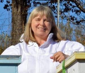 beekeeper charlotte from Carolina Honeybees