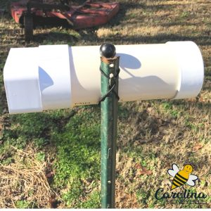 PVC pollen feeder - easy to build and use