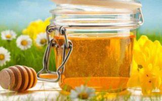 honey in a sealing jar for proper storage