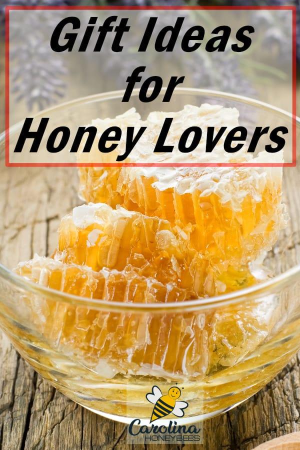 chunks of honey - gift ideas for honey lovers
