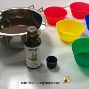 Fragrance, molds and materials for beeswax melts image.