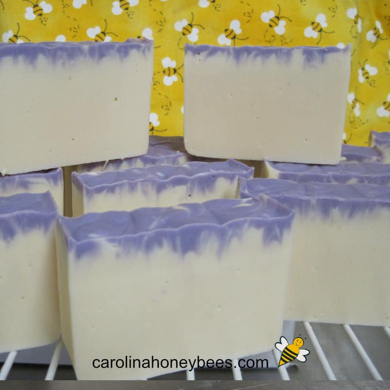 lavender goatmilk beeswax soap