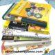 stack of beekeeping books for beginner beekeepers