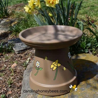 How to Make a Bee Watering Station for Your Garden
