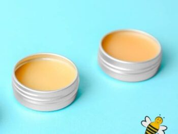 tins of beeswax foot balm