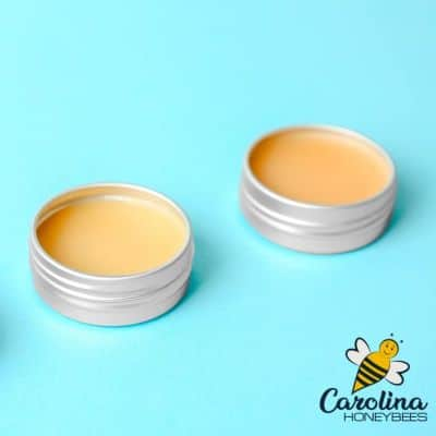 picture of 2 tins of beeswax foot balm