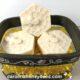 bee basket with goat milk & honey DIY soap bars