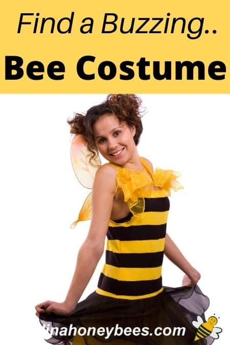 lady in bee costume