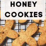 bee shaped cookies - homemade honey cookies