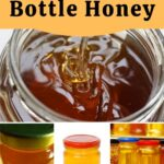 Various jars of honey how to bottle honey image.