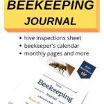 mock up of beekeeping journal