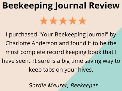 product testimonial for beekeeping journal