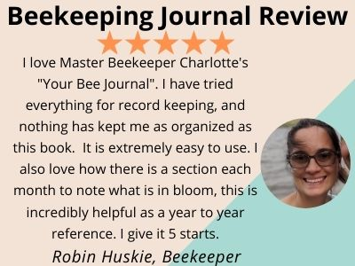 review from customer for beekeeping journal