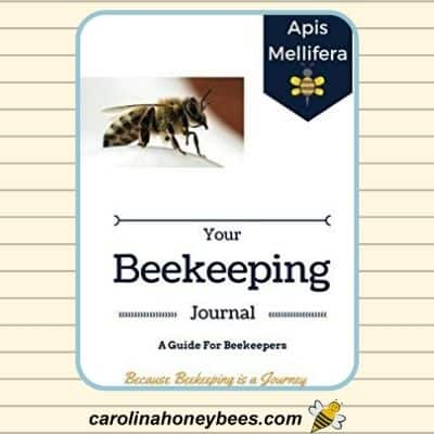 image of beekeeping journal guide for beekeepers