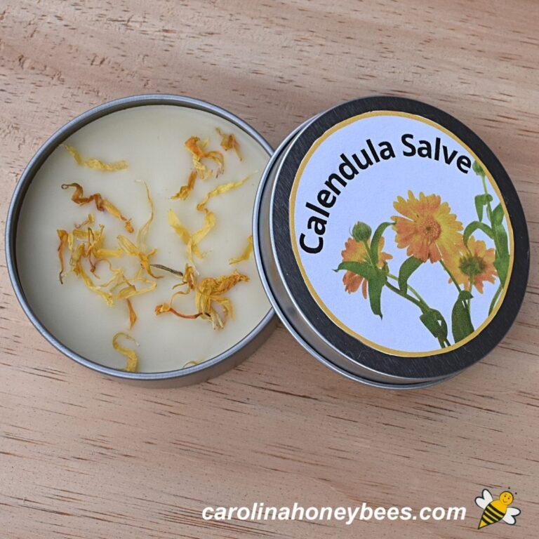 How to Make Calendula Salve with Beeswax
