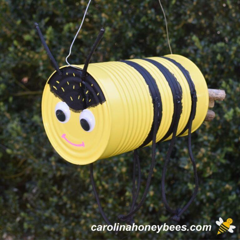 DIY Tin Can Bee Craft