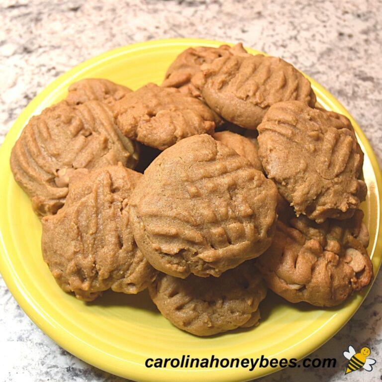 Peanut Butter Honey Cookies Recipe