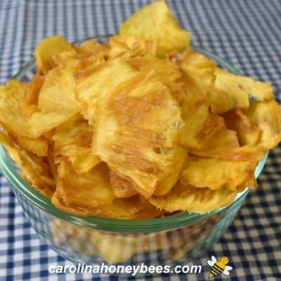 How to Make Dehydrated Pineapple with Honey
