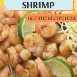 Dish of honey lime stir fry with noodles recipe image.