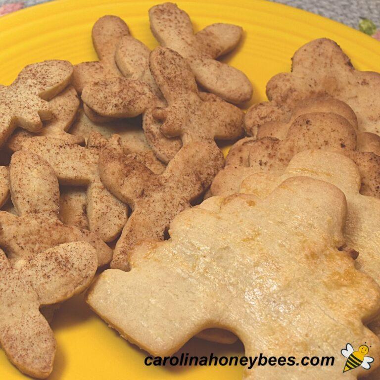 Crispy Honey Cookies Recipe