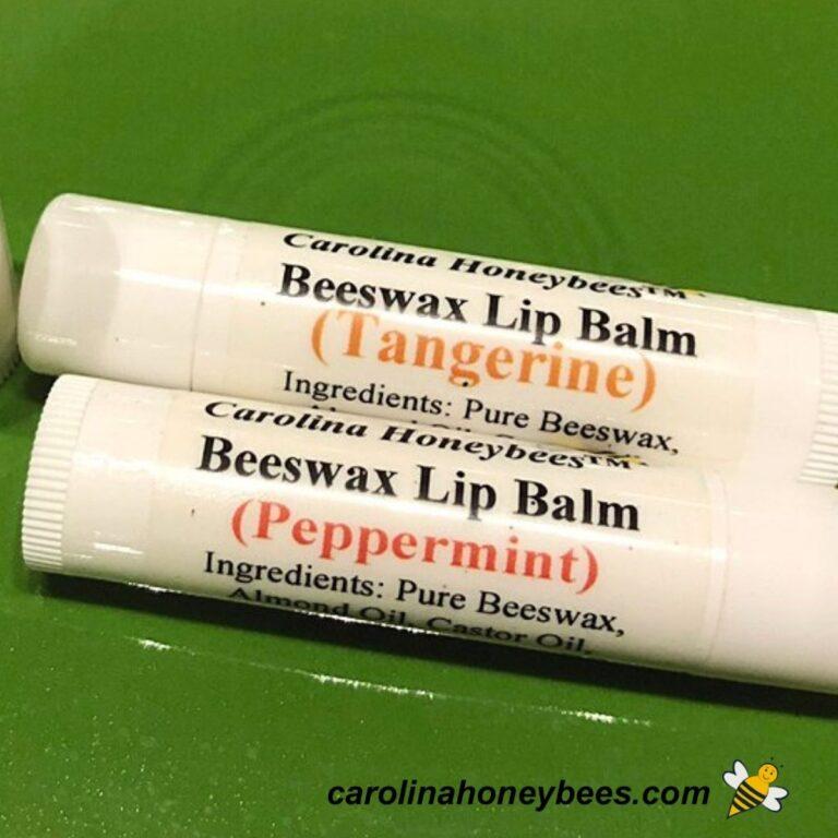 How to Make Beeswax Lip Balm {Easy Recipe}