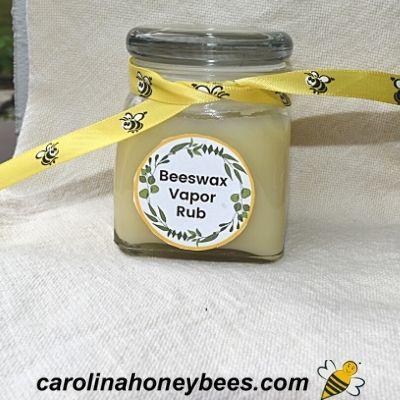 Beeswax Vapor Rub Recipe – DIY
