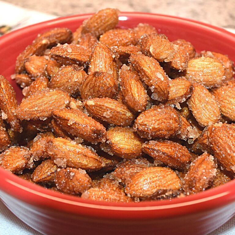 Honey Roasted Almonds with Sea Salt Recipe
