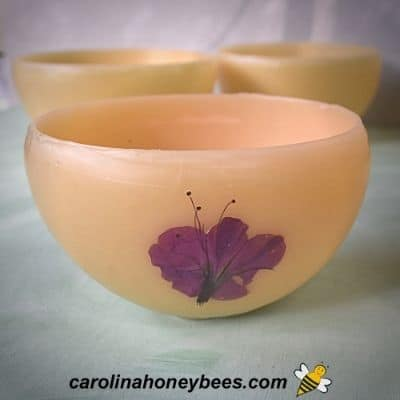 How to Make Beeswax Luminaires
