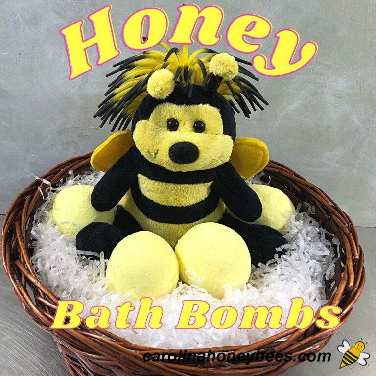 Easy Honey Bath Bombs DIY