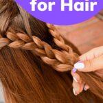 Braiding hair beeswax for hair style image.